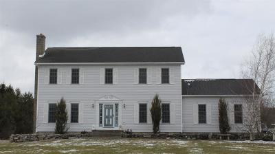 Attica Single Family Home A-Active: 1383 Clinton Street Road