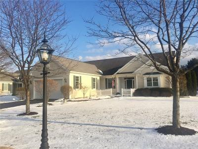 Pittsford Single Family Home U-Under Contract: 8 Oakfield Way #PVT