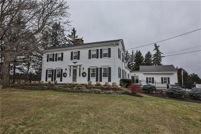 Pittsford Single Family Home For Sale: 397 W Bloomfield Road