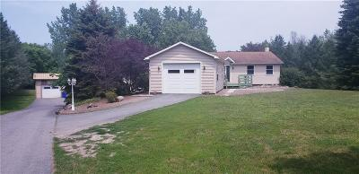 Orleans County Single Family Home U-Under Contract: 17057 Ridge Rd