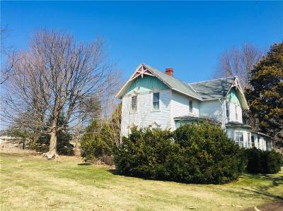 Walworth Single Family Home U-Under Contract: 2612 Ontario Center Road