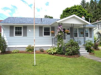 Olean NY Single Family Home U-Under Contract: $79,900