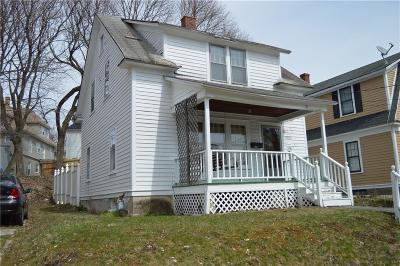Jamestown NY Single Family Home For Sale: $36,000