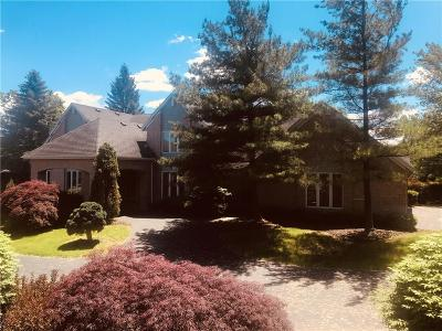 Pittsford Single Family Home For Sale: 3 Hidden Springs Drive