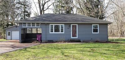 Monroe County Single Family Home U-Under Contract: 242 Whittier Road