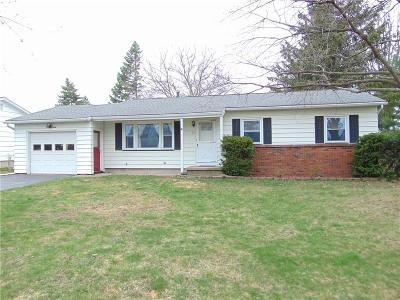 Rochester Single Family Home U-Under Contract: 19 Raven