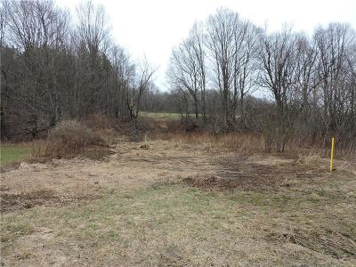 Chautauqua County Residential Lots & Land A-Active: Lawson/Nutt Road