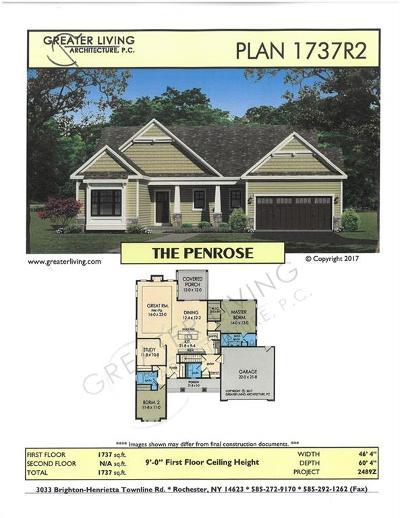Monroe County Single Family Home A-Active: Lot #713 Fallwood Terrace