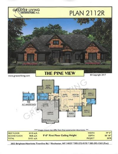 Monroe County Single Family Home A-Active: Lot #714 Fallwood Terrace