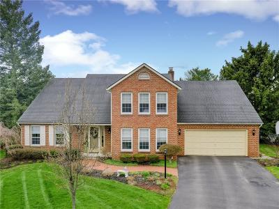 Pittsford Single Family Home A-Active: 166 Caversham Woods