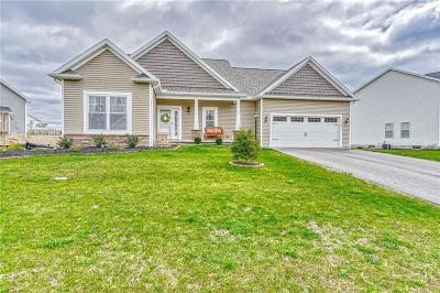 Canandaigua, Canandaigua-city, Canandaigua-town Single Family Home A-Active: 5161 Overlook Lane