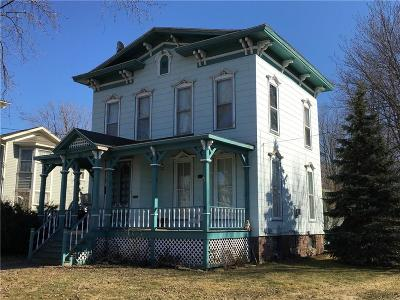 Orleans County Single Family Home U-Under Contract: 22 West Avenue