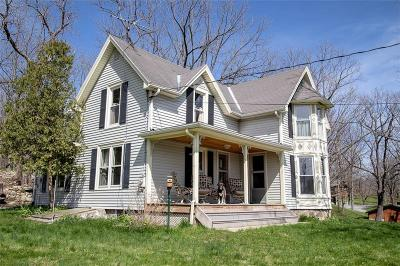 Single Family Home For Sale: 5070 & 5069 W Lake Road