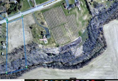Genesee County Residential Lots & Land A-Active: East Bethany Leroy Road