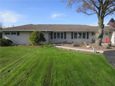 Monroe County Single Family Home A-Active: 3318 Brockport Spencerport Road