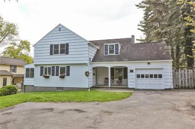 Pittsford Single Family Home For Sale: 17 W Jefferson Road