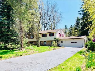 Penfield Single Family Home U-Under Contract: 1183 Northrup Road