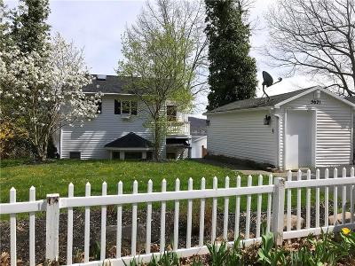Single Family Home For Sale: 5621 West Lake Road