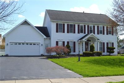 Pittsford Single Family Home U-Under Contract: 17 Churchview Lane