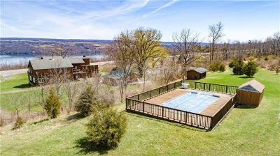 Single Family Home For Sale: 4856 State Route 14