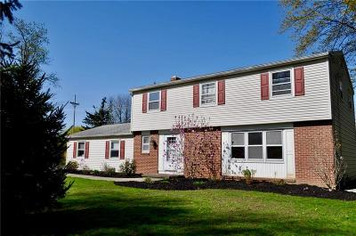 Pittsford Single Family Home A-Active: 75 Railroad Mills Road