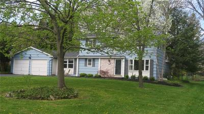 Pittsford Single Family Home U-Under Contract: 81 Parkridge Drive