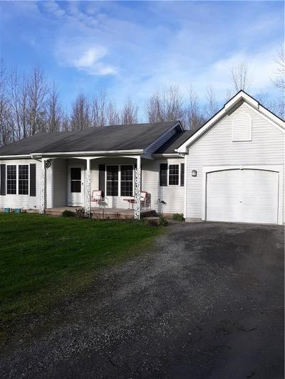 Orleans County Single Family Home U-Under Contract: 1521 Bills Road