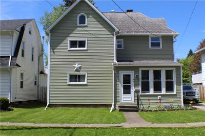 Allegany Single Family Home For Sale: 49 N 4th Street