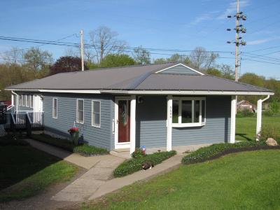 Ellington NY Single Family Home For Sale: $105,000