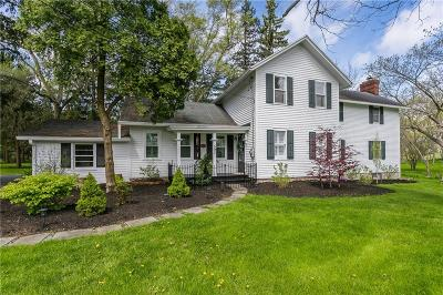 Pittsford Single Family Home A-Active: 597 Mendon Road