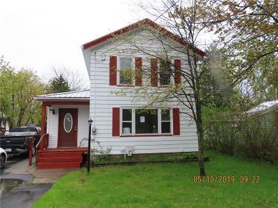 Waterloo NY Single Family Home A-Active: $44,900