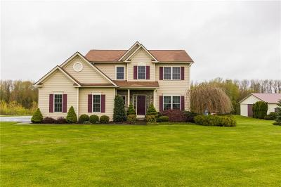 Walworth Single Family Home U-Under Contract: 4627 Hall Center Road