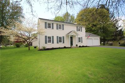 Pittsford Single Family Home U-Under Contract: 51 Musket Lane