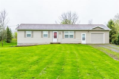 Orleans County Single Family Home U-Under Contract: 17046 Ladue Road