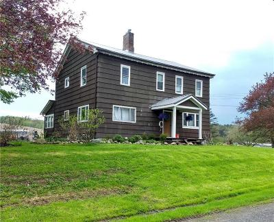 Warsaw Single Family Home For Sale: 3378 State Route 19