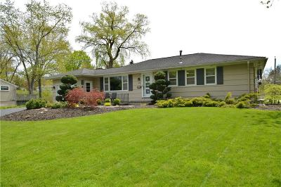 Penfield Single Family Home U-Under Contract: 15 Valley Stream Road