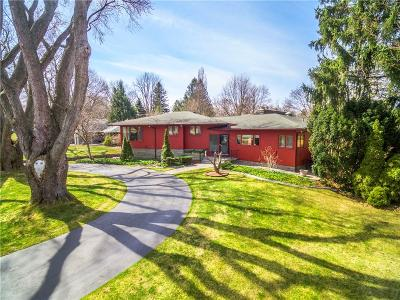 Pittsford Single Family Home Active Under Contract: 3715 East Avenue