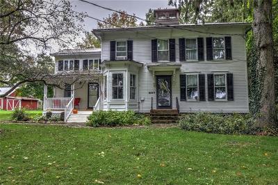 Scipio Single Family Home For Sale: 3377 Cork Street