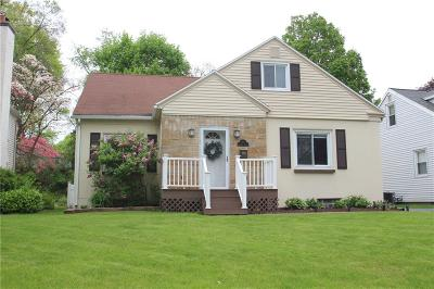 East Rochester NY Single Family Home A-Active: $144,900