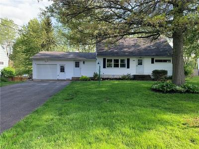 Churchville NY Single Family Home A-Active: $155,000