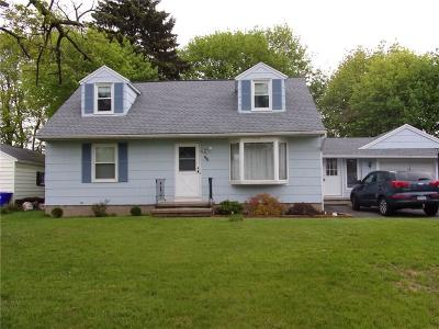 Rochester NY Single Family Home A-Active: $129,900