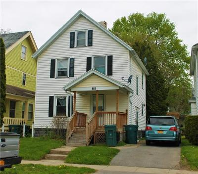 Rochester Single Family Home For Sale: 85 Winterroth Street