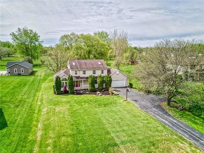Monroe County Single Family Home A-Active: 245 Ogden Parma Town Line Road
