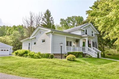 Rush Single Family Home U-Under Contract: 7662 East River Road