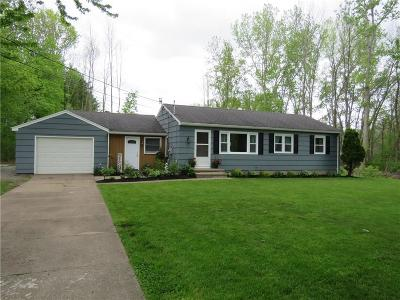 Monroe County Single Family Home A-Active: 1171 Ogden Parma Town Line Road