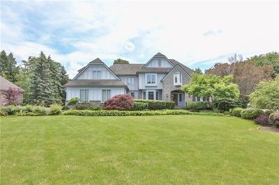 Pittsford Single Family Home For Sale: 8 Roxbury Lane
