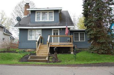 Busti NY Single Family Home For Sale: $114,900