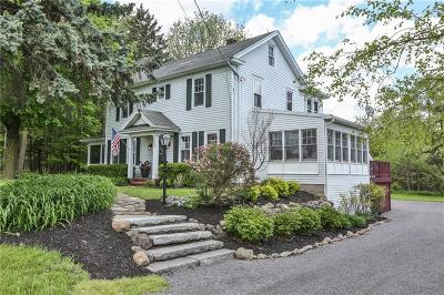 Pittsford Single Family Home Active Under Contract: 350 Mendon Center Road