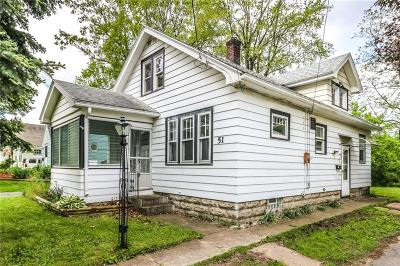Rochester Single Family Home For Sale: 51 Frey Street