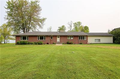 Single Family Home For Sale: 1608 Lake Road